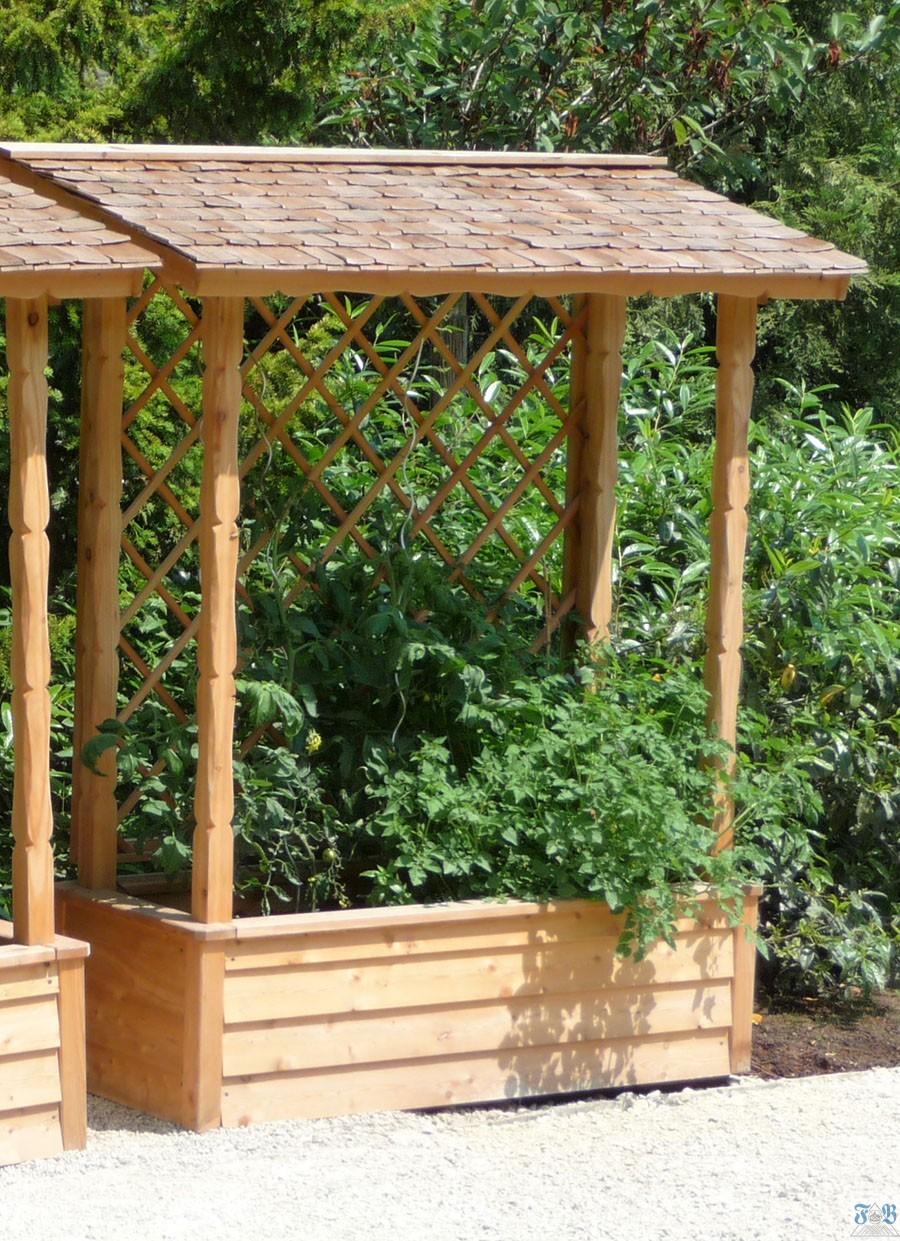 Tomatenhaus in Feldafing