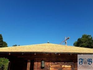 Bootshütte neues Schindeldach